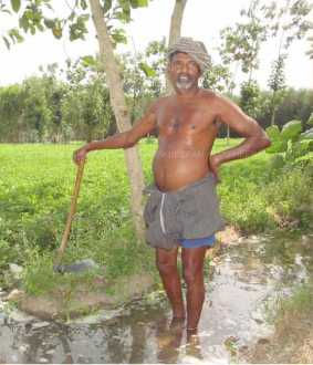 Neduvasal farmer who chased away ONGC officials