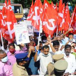 CITU demands Pongal gift for all welfare workers