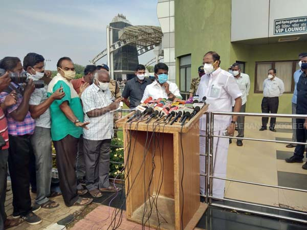 Minister C. Vijayabaskar Interview in Trichy