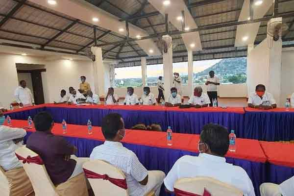 All party meeting  of Kallakurichi DMK ...