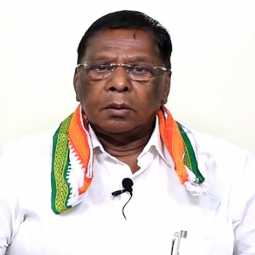 PUDUCHERRY CM NARAYANASAMY PRESS MEET CORONAVIRUS LOCKDOWN PEOPLES