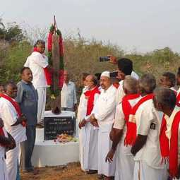 Memorial Day of the Member of the Legislative Assembly who received praise from Jayalalitha