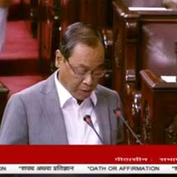supreme court former chief justice ranjan gogoi take oath as rajay sabha
