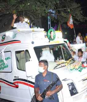 eps campaign in kolathur constituency