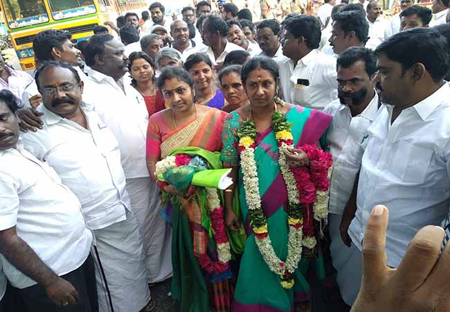 salem district ayodhyapattanam union election dmk party win