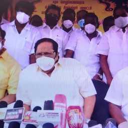 DMK duraimurugan press meet