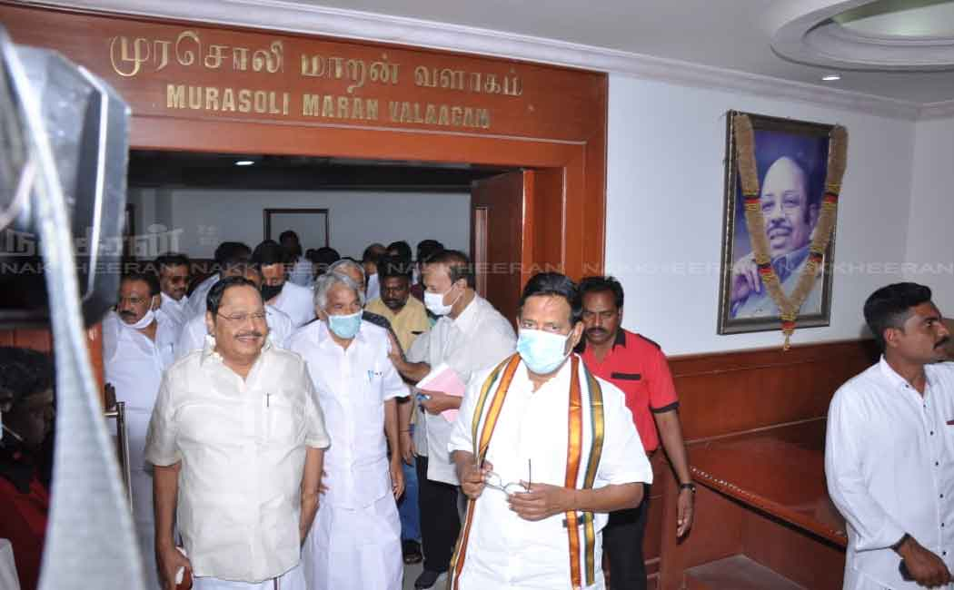 tn assembly election seat dmk and congress parties discussion today