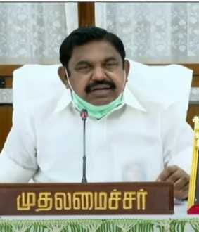 tamilnadu cm palanisamy discussion with ministers and officers