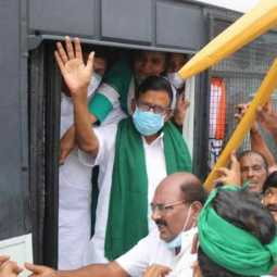 KS Alagiri and congress members arrested