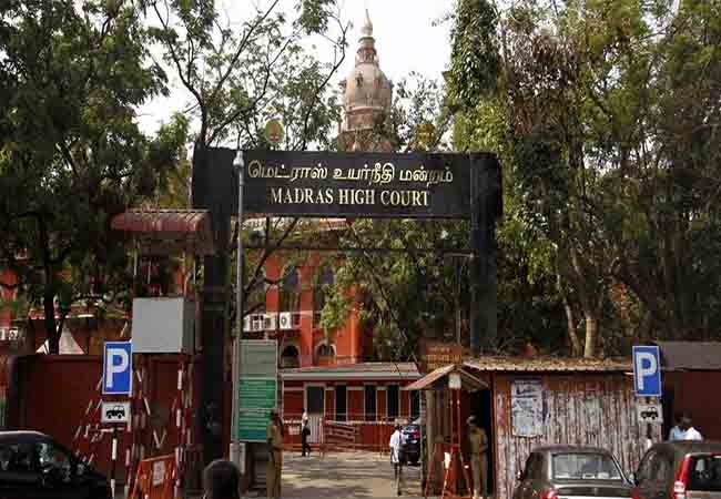 chennai high court government officers pension issues