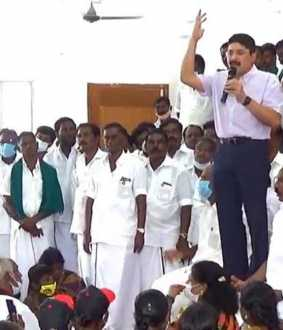 MP Dhayanithi maran speech about Edappadi palanisamy