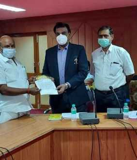 Health officials of the Tamil Nadu government inspect the Raja Muthiah Medical College ..!