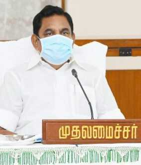 tamilnadu cm palanisamy discussion with ministers