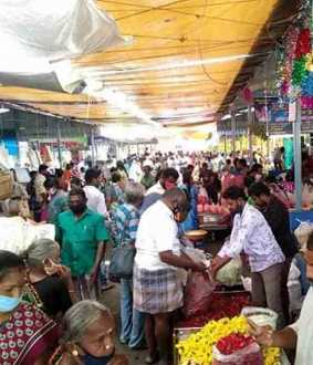 salem district market tender admk party mlas, market shops peoples