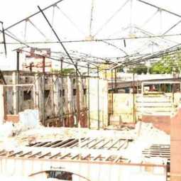 Trichy Ramakrishna theater demolish