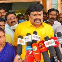 virudhunagar district minister rajendra balaji press meet