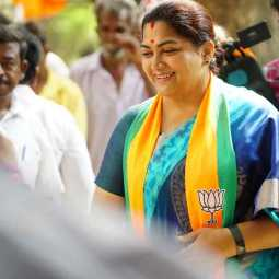 Actress Kushboo twitted to kanimozhi  recover from covid