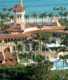 trump moves to Mar-a-Lago residence