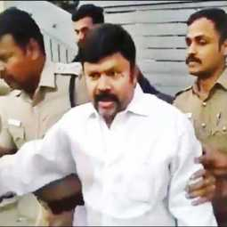 admk former mp kc palanisamy bail petition cancel