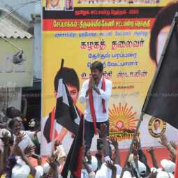 MKStalin election campaign for Udhayanithi