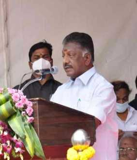 ops speech in jayalalitha temple open function
