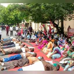 Pondycherry 'BASIC, Popsco' workers arrested.. for seventh day demanding salary issue
