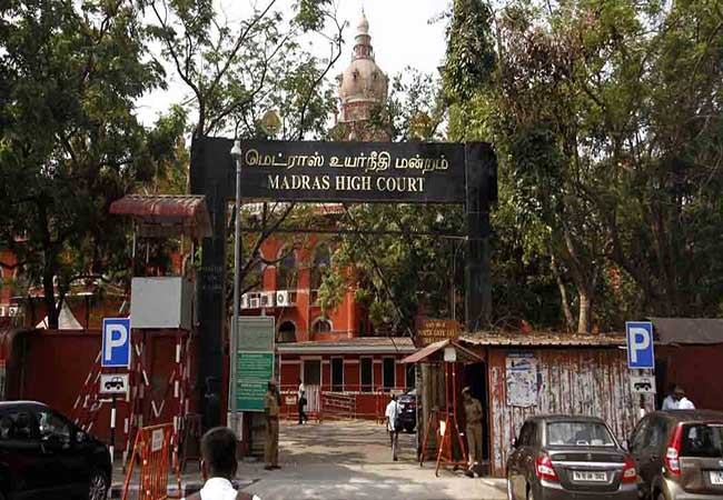 former justice karnanan chennai high court order police