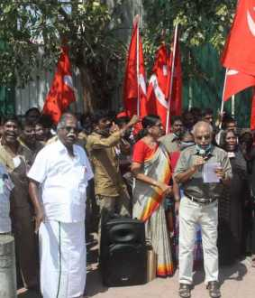 indian communist party condemns for petrol,diesel price hike