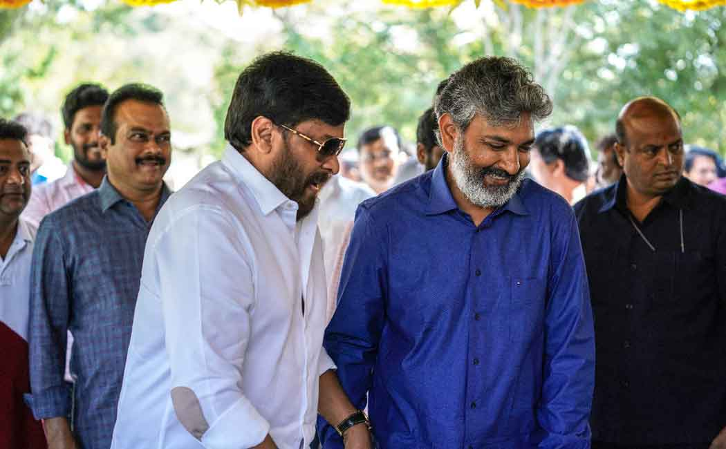 chiranjeevi with rajamouli