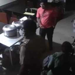 Police SI assaults customers at restaurant