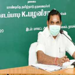 cm palanisamy discussion with doctor team