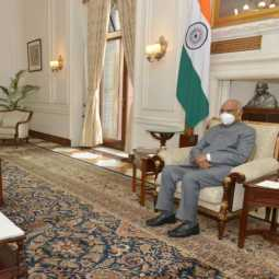 tamilnadu governor meet with president of india