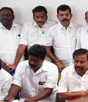 """DMK Trichy Conference on 700 acres of land"" - KN Nehru"