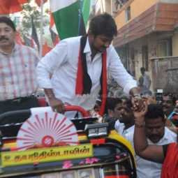 udhayanidhi stalin involved in campaign in chepauk
