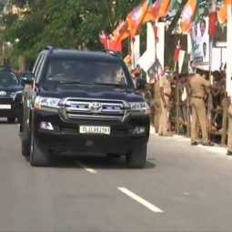 COIMBATORE ARRIVED PM NARENDRA MODI