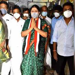 sasikala arrived chennai very soon