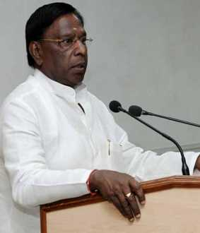 Puducherry Chief Minister Narayanasamy ready to discuss with PM?