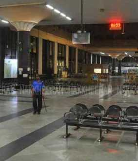 Night curfew in Tamil Nadu ... Deserted Chennai Coimbate! (Pictures)
