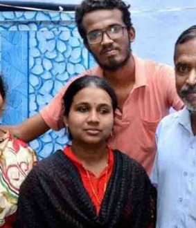 Success in IAS exam with parental help - Madurai student -