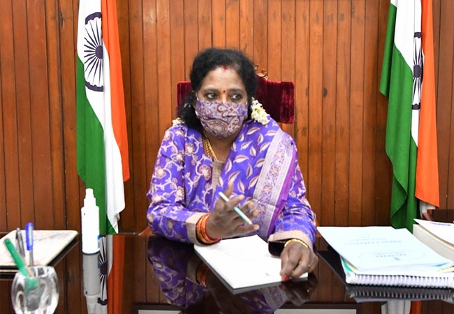 puducherry governor tamilisai soundararajan advisors appointed