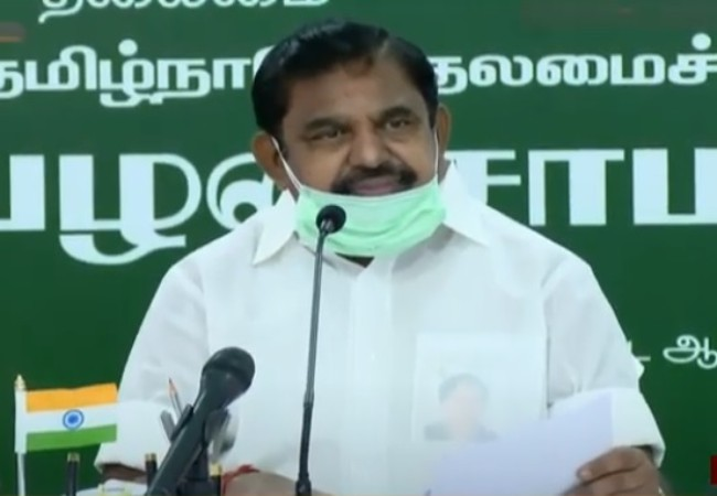 tamilnadu cm palanisamy discussion with farmers based on agricultural bills