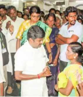 Minister Vijayabaskar - Cancer Center - Salem Government Hospital