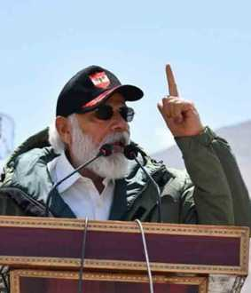 modi speech in ladakh