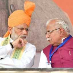 modi with manohar