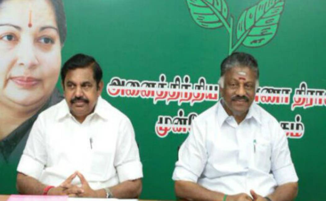 tn assembly election 2021 admk party ops and eps
