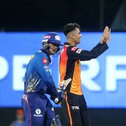 ipl cricket match sunrisers hyderabad team vs mumbai indians team