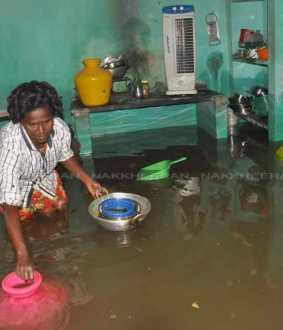 Chennai villivakkam are affected nivar cyclone people suffer