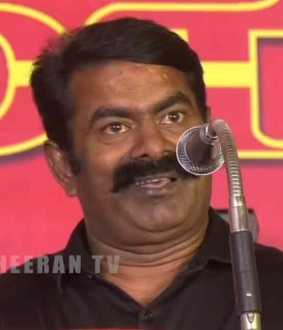 """I will contest against MK Stalin in any constituency."" - Seeman"