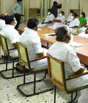 admk Election work