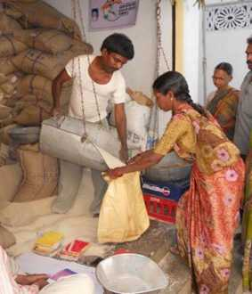 ration shops employees salary increment committee